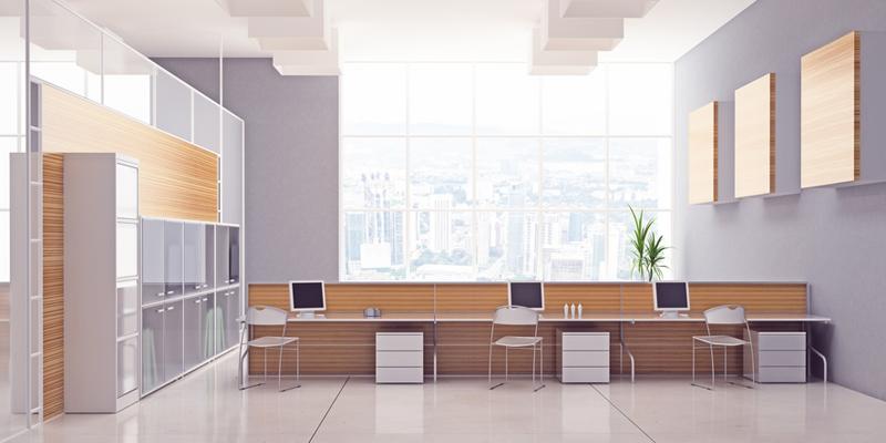 La decoración de interiores en empresas