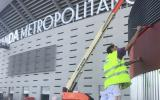Servicios de pintura para empresas en Madrid - Wanda Metropolitano -  Pinturas Cobalto