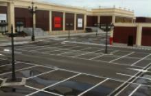 Pintores en Madrid - pintura parking Centro Comercial - Pinturas Cobalto