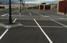 Pinturas en Madrid - parking exterior- Pinturas Cobalto