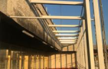 Protección contra la oxidación en Madrid - aeropuerto Madrid Barajas - Pinturas Cobalto