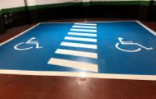Señalización vial en Madrid - reserva PMR - Pinturas Cobalto