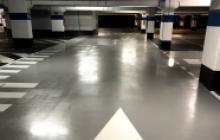 Suelos epoxi y poliuretano - parking- Pinturas Cobalto