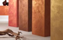Pinturas especiales en Madrid - muestras Oikos - Pinturas Cobalto