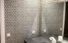 Papeles decorativos en Madrid - baño- Pinturas Cobalto