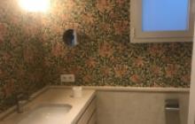Papeles decorativos en Madrid - baño 2- Pinturas Cobalto