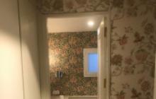 Papeles decorativos en Madrid - motivos florales- Pinturas Cobalto